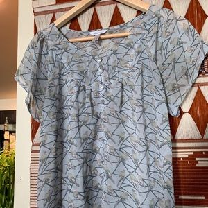 Bird Patterned Shirt